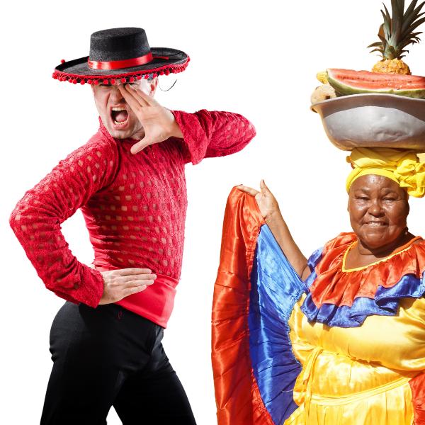 Gestión cultural, España y Colombia